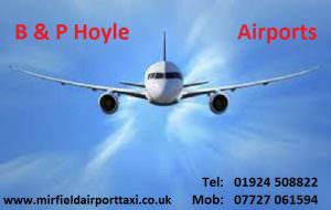 Mirfield Airport Taxi